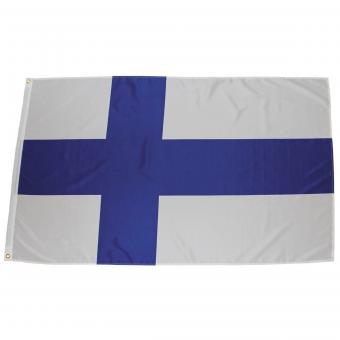 Fahne, Finnland, Polyester, 90 x 150 cm