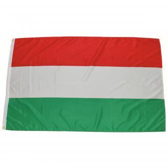 Fahne, Ungarn, Polyester, 90 x 150 cm