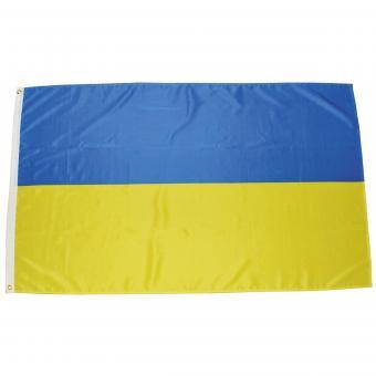 Fahne, Ukraine, Polyester, 90 x 150 cm