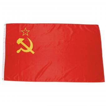 Fahne, UdSSR, Polyester, 90 x 150 cm