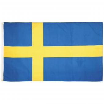 Fahne, Schweden, Polyester, 90 x 150 cm