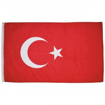 Fahne, Türkei, Polyester, 90 x 150 cm