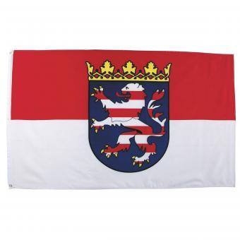 Fahne, Hessen, Polyester, 90 x 150 cm