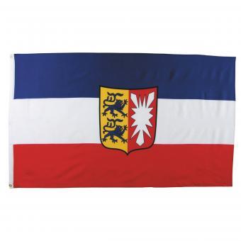 Fahne, Schleswig-Holstein, Polyester, 90 x 150 cm