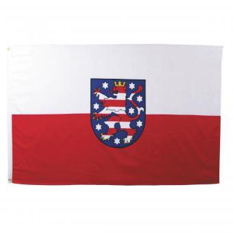 Fahne, Thüringen, Polyester, 90 x 150 cm