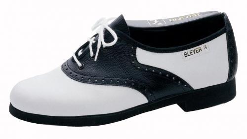 7139 Saddle, weiß/schwarz, Marke Bleyer, kein Versand