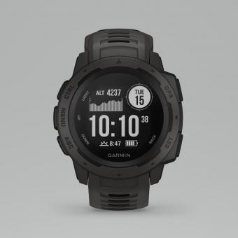 Instinct, GPS Watch, Marke Garmin, Farbe graphit