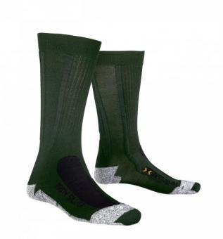 X-Socks Army silver, oliv, Marke X-Bionic, Größe 45-47 45-47