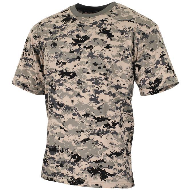 US T-Shirt, halbarm, digital- urban, 170 g/m²