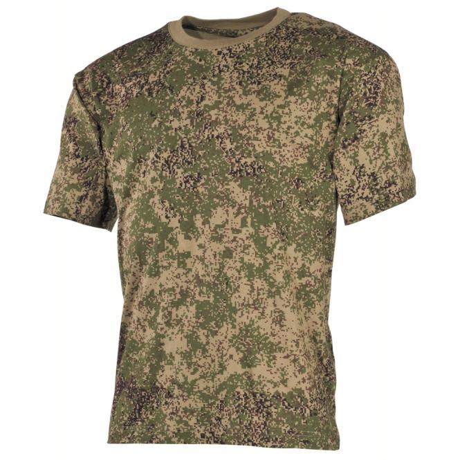 US T-Shirt, halbarm, russisch digital, 170 g/m²