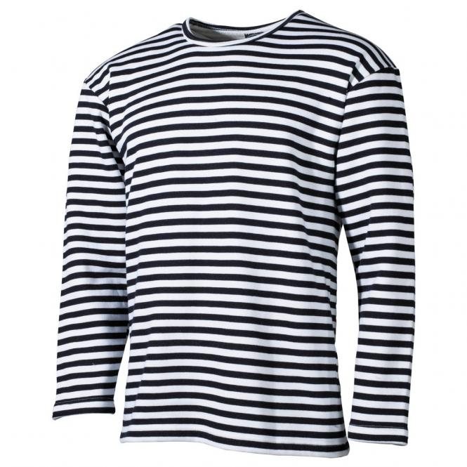 Russ. Marine Shirt, langarm, Winter