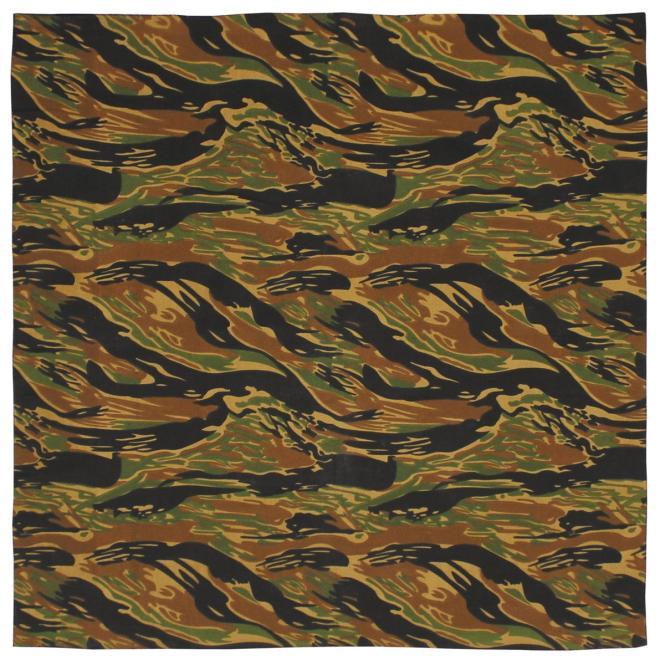 Bandana, tiger stripe, Gr. 55 x 55 cm, Baumwolle