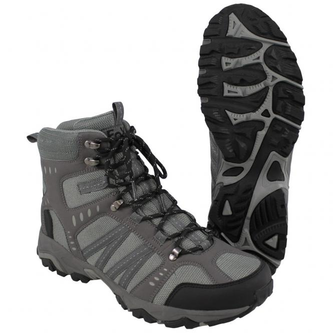 Trekking-Schuh, grau, Mountain High