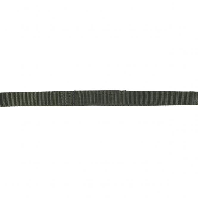 Gürtel, mit Klettverschluss, oliv, Breite 3,2 cm