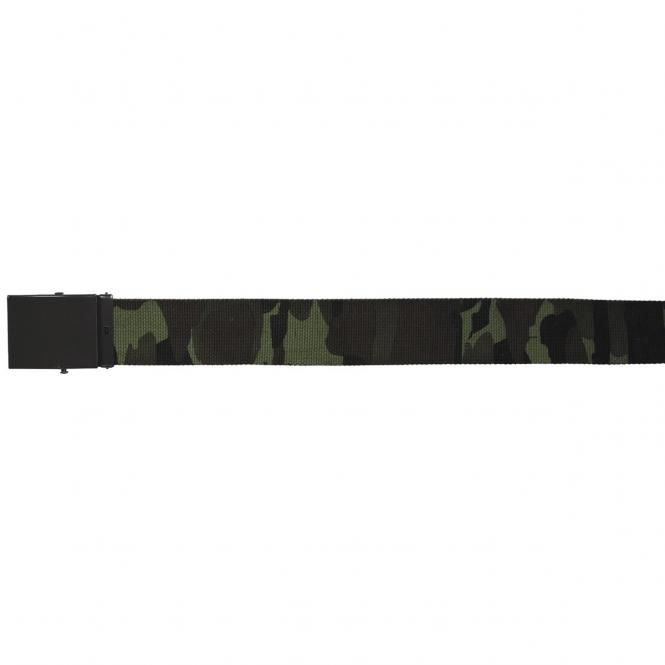 Gürtel, CZ tarn, 4,5 cm breit, mit Metallkastenschloß
