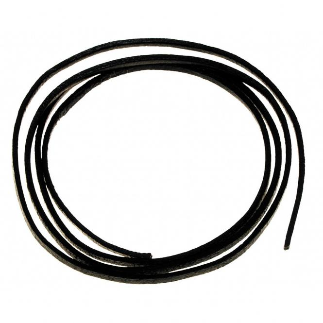 Lederband, schwarz, Länge ca. 1 m