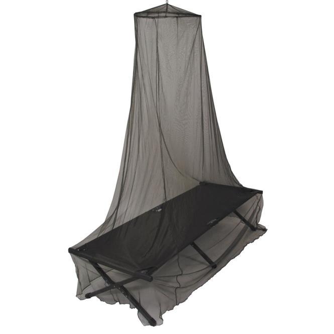 Moskitonetz für Bett, oliv, Gr. 0,63 x 2,0 x 8,0 m