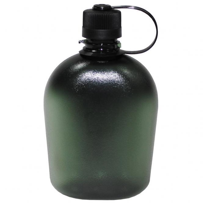 US Feldflasche, GEN II, 1 l, oliv/transparent, BPA-frei
