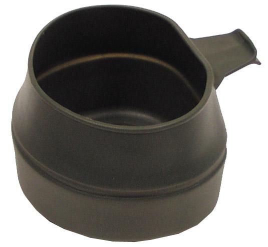 """Faltbecher, """"Fold-A-Cup"""", Kunststoff, oliv, 200 ml"""