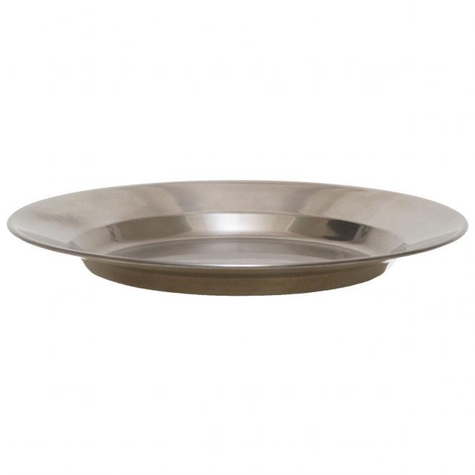 Suppenteller, Edelstahl, 23 cm