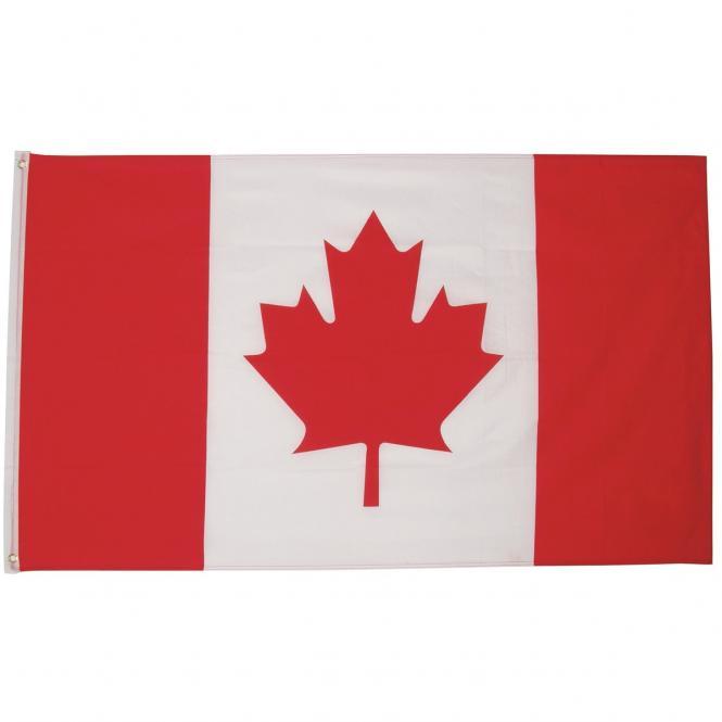 Fahne, Kanada, Polyester, Gr. 90 x 150 cm