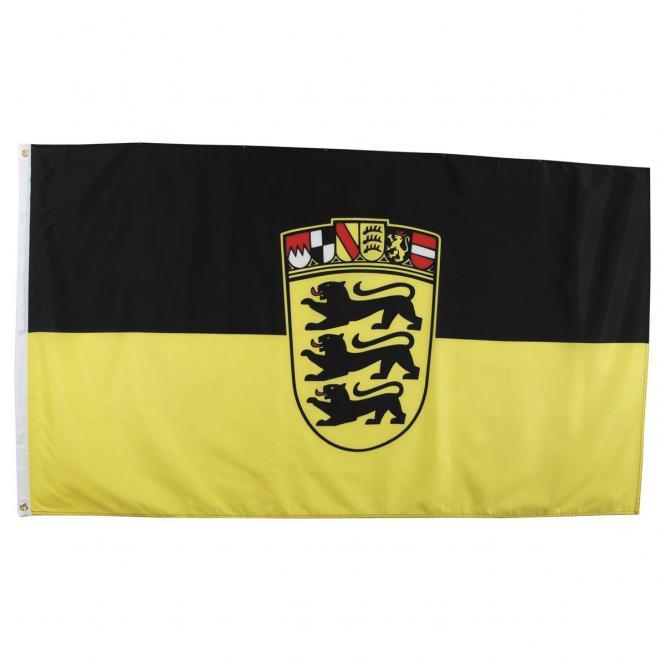 Fahne, Baden-Württemberg, Polyester, Gr. 90x150 cm