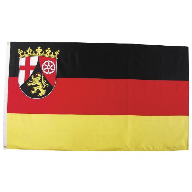 Fahne, Rheinland-Pfalz, Polyester, Gr. 90x150 cm