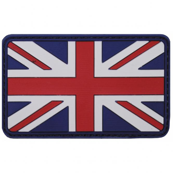 Klettabzeichen,Großbritannien, 3D, Größe: 8 x 5 cm