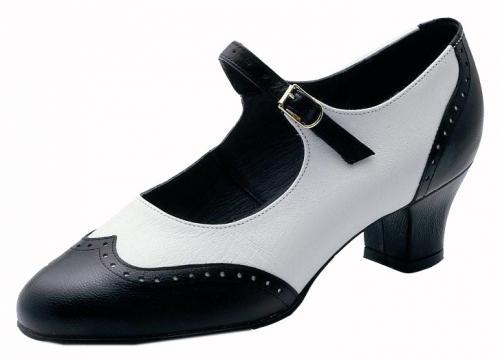 4405 Suzy-Q, schwarz-weiß, Marke Bleyer