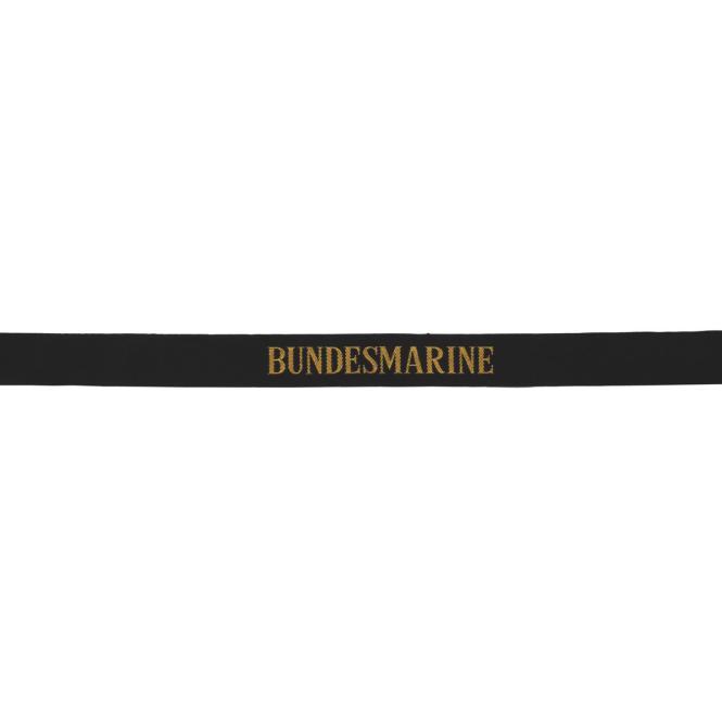 BW Mützenband, schwarz, Bundesmarine, neuwertig