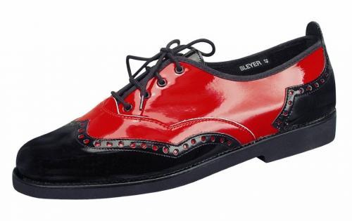 8376 Luigi, schwarz/rot, Marke Bleyer