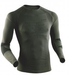 Combat Energizer Shirt langarm, oliv, Marke X-Bionic, Größe L/XL L/XL