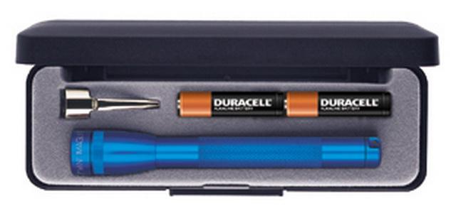 MICRO MAGLITE AAA, mini, blau, Geschenkbox, (12,5cm)