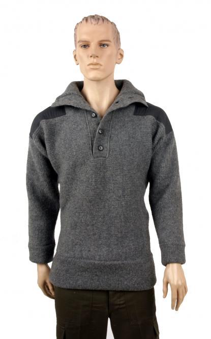 Alpinpullover, grau, Modell ÖBH, neu