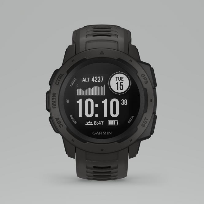 Instinct, GPS Watch, Marke Garmin, Farbe graphit