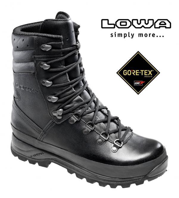 "Feldschuh, ""Combat Boot GTX"", schwarz, Marke LOWA, Gr. 39,5 (6,5) 39,5 (6,5)"