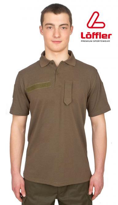Transtex-Poloshirt ÖBH, oliv, Marke Löffler