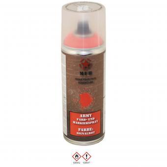 Army Farbspray, SIGNALROT, 400 ml