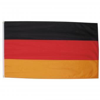 Fahne, Deutschland, Polyester, 90 x 150 cm