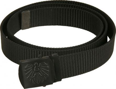 ÖBH Hosengurt, schwarz, Kastenschloss mit Adler-schwarz 110 cm